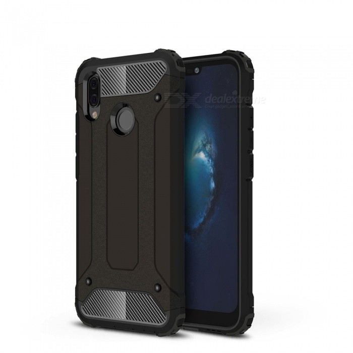 Dayspirit King Kong Armor Style Shockproof Anti-Scratch Protective Back Cover Case for Huawei P20 Lite