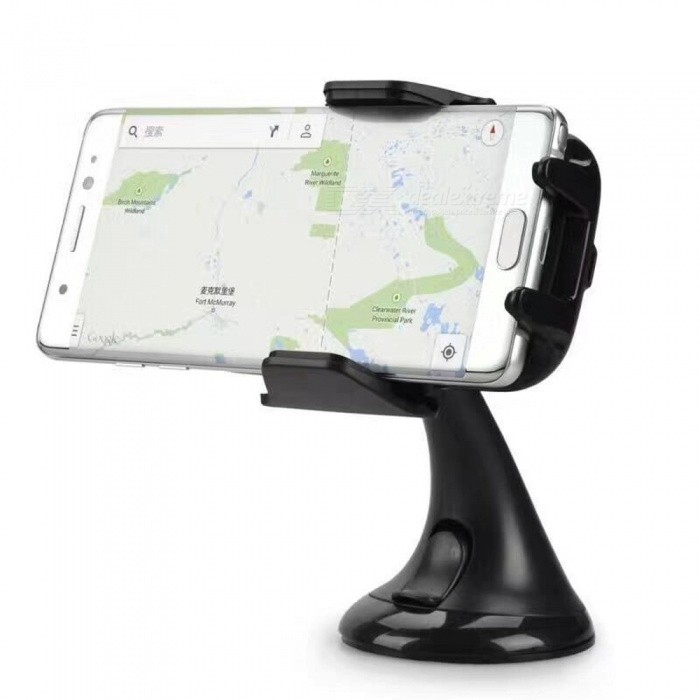 360 Rotatable Degrees Car Mount Qi Fast Charge Wireless Charger for Mobile Phone