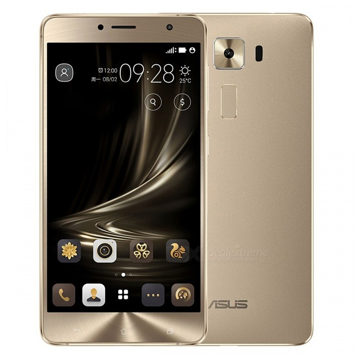 Asus Zenfone 3 Deluxe ZS550KL Dual SIM Mobile Phone with 4G RAM 64GB ROM - Gold