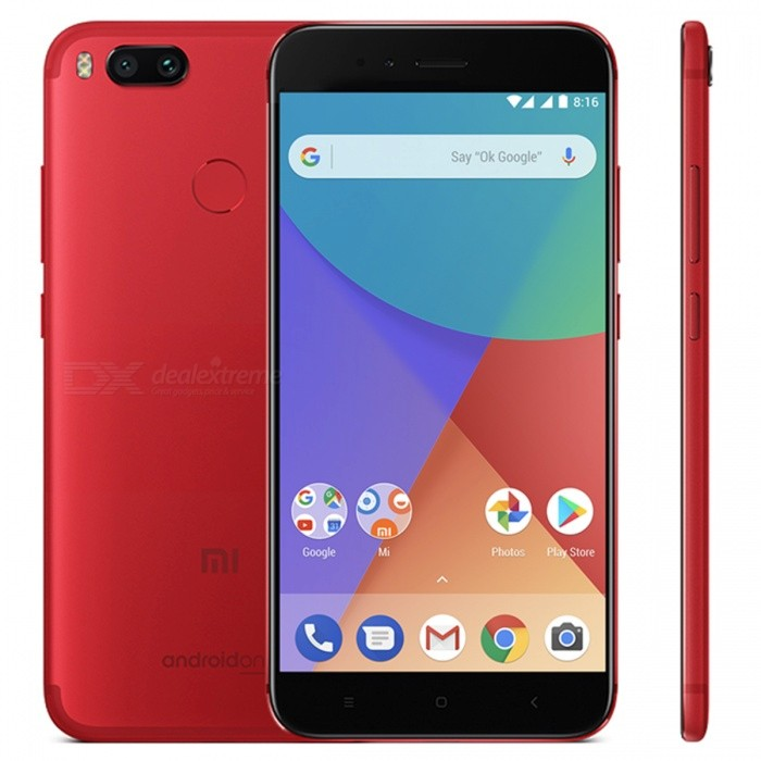 Xiaomi Mi A1 Mobile Phone with 4GB RAM, 32GB ROM - Red