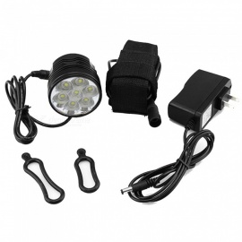 ZHAOYAO-Mountain-Bike-7-LED-Headlight-Lamp-Kit-with-18650-Battery-2b-EUUS-Plug-Charger