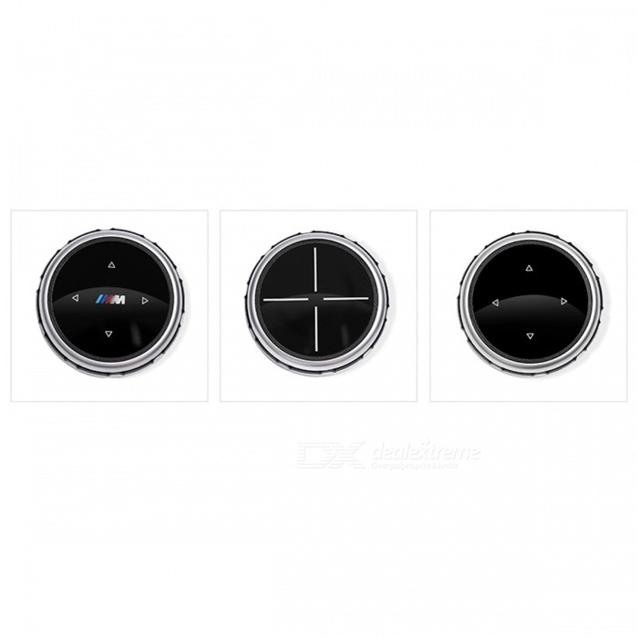 iDrive Car Multimedia Buttons Cover Stickers for BMW X1 X3 X5 X6 F30 E90  E92 F10 F18 F11 F07 GT Z4 F15 F16 F25 E60 E61