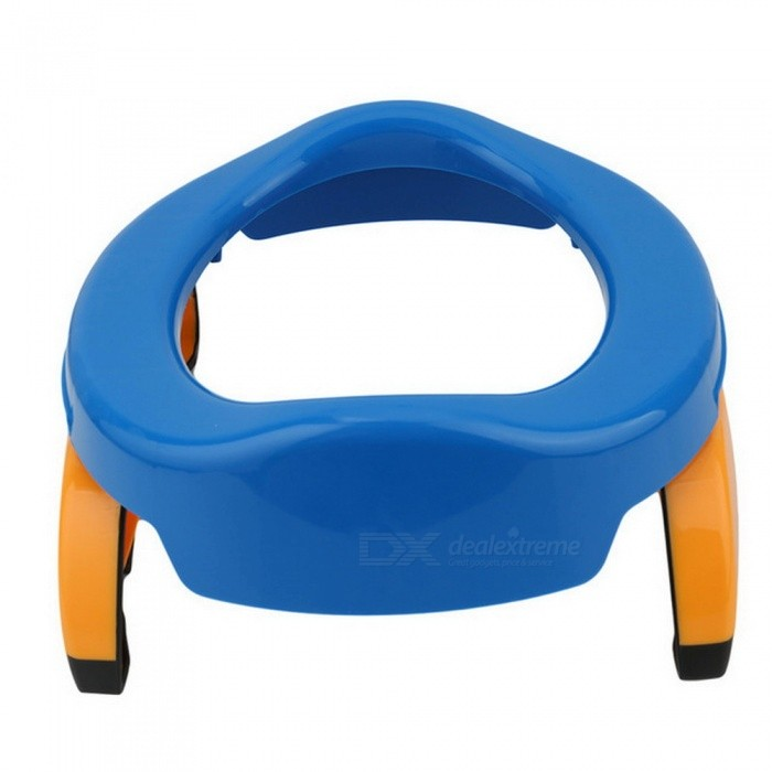 Buy 2-in-1 Portable Baby Travel Potty, Toilet Seat - Blue with Litecoins with Free Shipping on Gipsybee.com