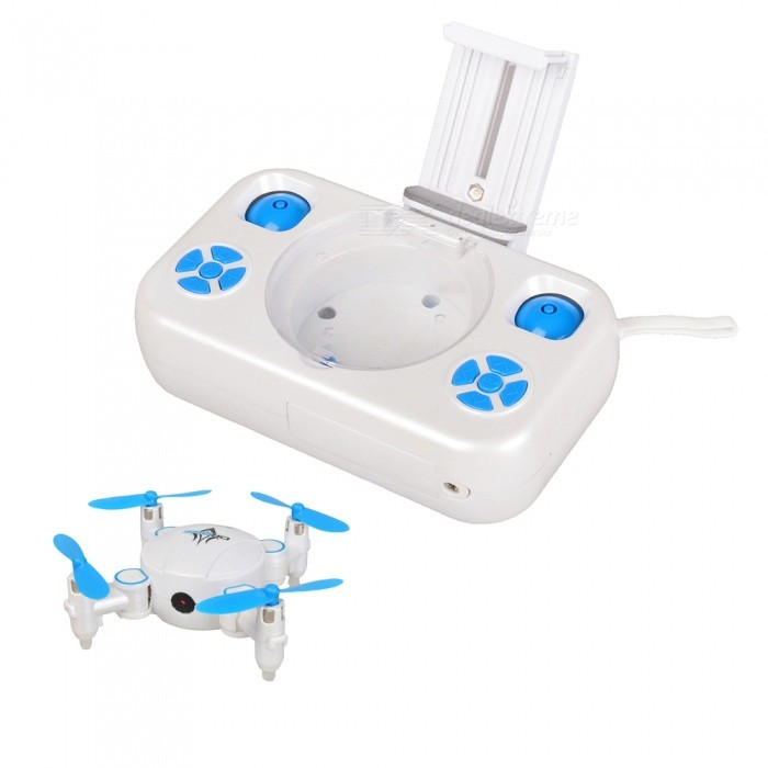 KK3 2.4G Wi-Fi FPV Mini Pocket Selfie Foldable RC Helicopter Quadcopter Drone with 0.3MP HD Camera for sale for the best price on Gipsybee.com.