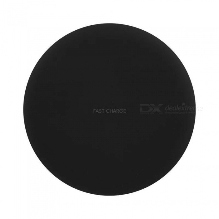 Round Shaped 10W Fast Charge Qi Wireless Charger Pad for Galaxy S9 / S9+/S8 Plus/ s8 / IPHONE X / 8 / 8 Plus
