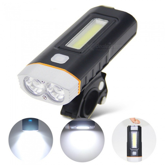 AIBBER-TONE-Waterproof-USB-Rechargeable-Bicycle-Front-Light-Headlight-Flashlight-with-Lithium-Battery-for-Camping