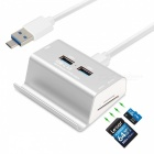 2-in-1-3-Ports-USB-30-Hub-Micro-USB-OTG-Hub-Multi-Splitter-SD-TF-Card-Reader-with-Cable-for-Macbook-PC-Laptop-Phone-Silver