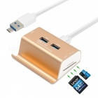 2-in-1-3-Ports-USB-30-Hub-Micro-USB-OTG-Hub-Multi-Splitter-SD-TF-Card-Reader-with-Cable-for-Macbook-PC-Laptop-Phone-Golden