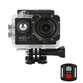 4K Wi-Fi 2.4G Ultra HD Waterproof Sport Camera with Remote Control