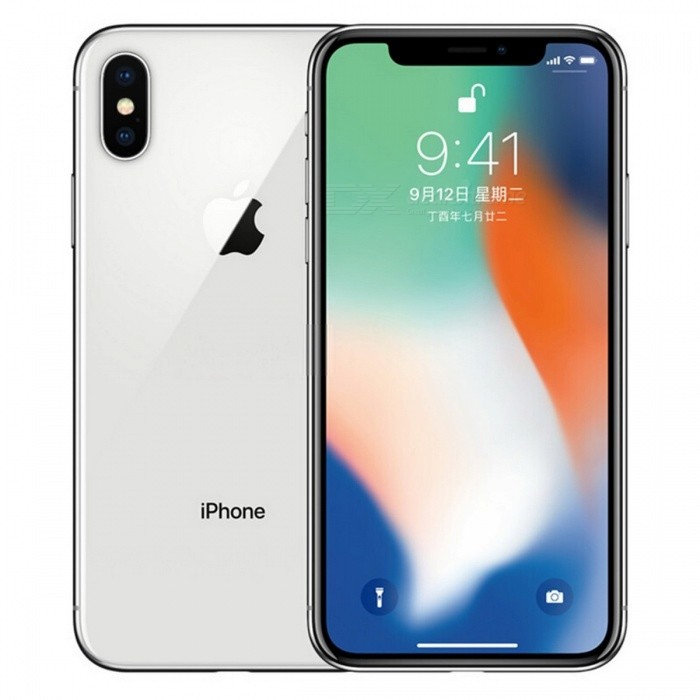 Apple IPHONE X 64GB/256GB Mobile Phone - Unlocked Used, EU Plug