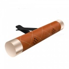 ZHAOYAO-Car-Air-Outlet-Air-Conditioner-Aluminum-Clip-Aromatherapy-Perfume-Solid-Balm-Brown