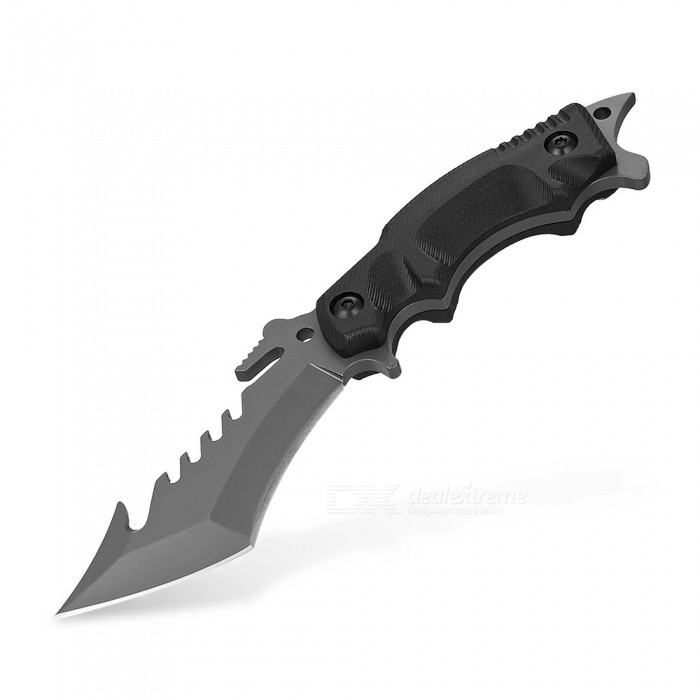 SR014 Portable Diving Tactical Knife EDC Tool for Outdoor Survival, Self-Defense