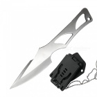 D2-Steel-Portable-Tactical-Knife-EDC-Tool-w-K-Sheath-for-Outdoor-Survival-Self-Defense