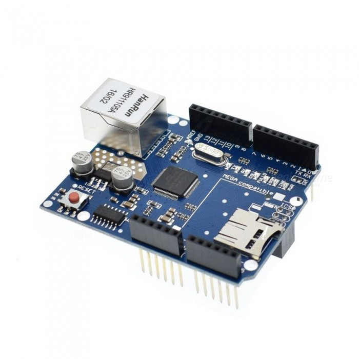 5PCS Ethernet Shield W5100 Network Expansion Board For Arduino UNO R3 Mega 2560