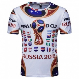 2018-Russian-World-Cup-Mens-Short-Sleeves-Commemorative-T-Shirt