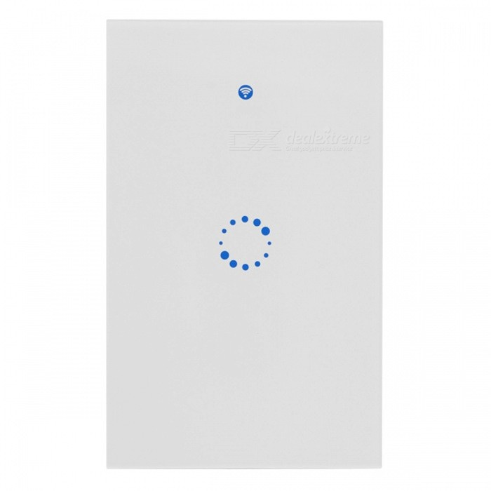 Sonoff T1 US Smart Wi-Fi Wall Touch Light Switch with 315MHz RF / APP Remote - 1 Gang