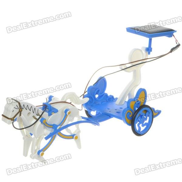 3-in-1 Educational DIY Solar Stallion Toy Assembly Kit