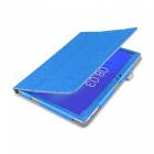Tablet Case Auto Sleep / Wake Up Function for Teclast T10 - Blue