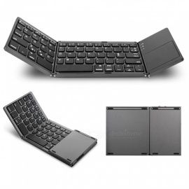 Miimall-3-Folding-Rechargeable-Small-Wireless-Bluetooth-Keyboard-with-Touchpad-for-iOS-Android-WindowsTablet