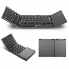 Miimall-3-Folding-Rechargeable-Small-Wireless-Bluetooth-Keyboard-with-Touchpad-for-iOS-Android-WindowsTablet-Black