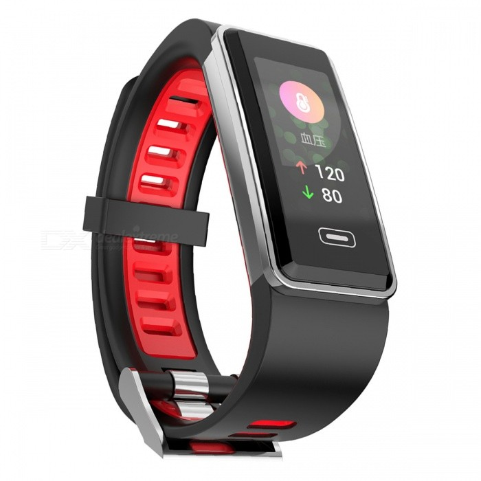 G23 IP67 Waterproof Multi-Function Touch Screen Smart Bracelet Sports Fitness Tracker - Red