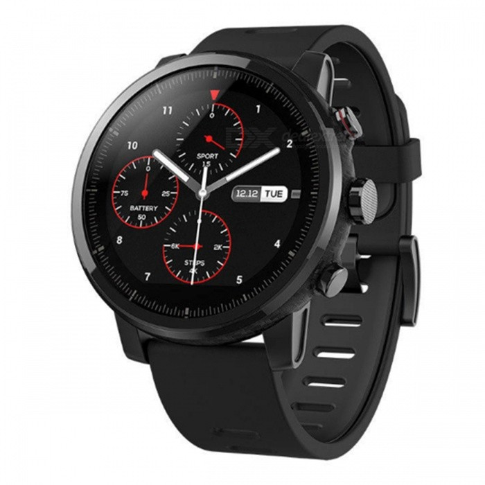 Xiaomi Huami Amazfit Stratos Pace 2 Smart Watch - Schwarze Englische Version