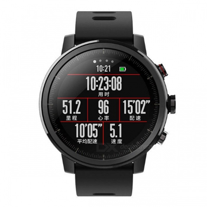 6988a01b4 ... Xiaomi Huami Amazfit Stratos Pace 2 Smart Watch - Black English Version  ...