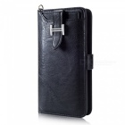 Measy-Fashionable-PU-Leather-Wallet-Style-Protective-Case-for-Samsung-Galaxy-S9-Black