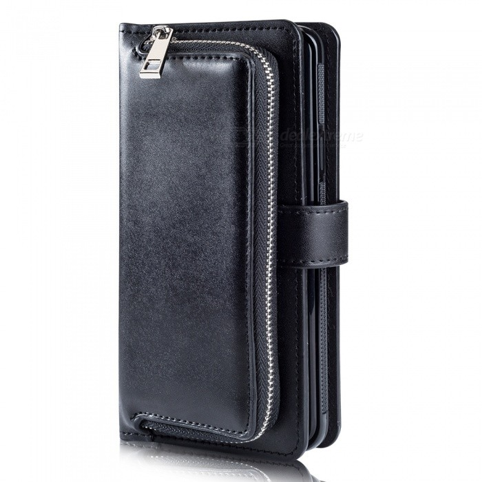 Measy Fashionable PU Leather Wallet Style Case with Zippered Bag for Samsung Galaxy  Note 9