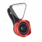 OJADE-3-in-1-Clip-on-LED-Selfie-Fill-Light-4K-HD-Wide-angle-Macro-Lens-Filter-Red