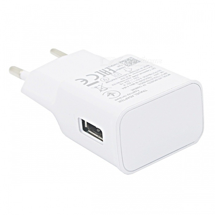 Mini Smile 15W Quick Charger, Smart Travel USB 5V / 9V Self-Adptive Wall Power Adapter for Samsung Galaxy S9 / S9 Plus
