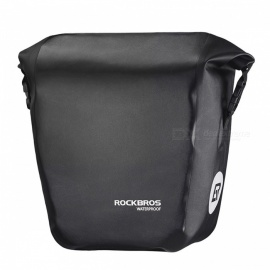 ROCKBROS-18L-Portable-Waterproof-Bicycle-Bike-Bag-Pannier-Rear-Rack-Tail-Seat-Trunk-Pack-Black