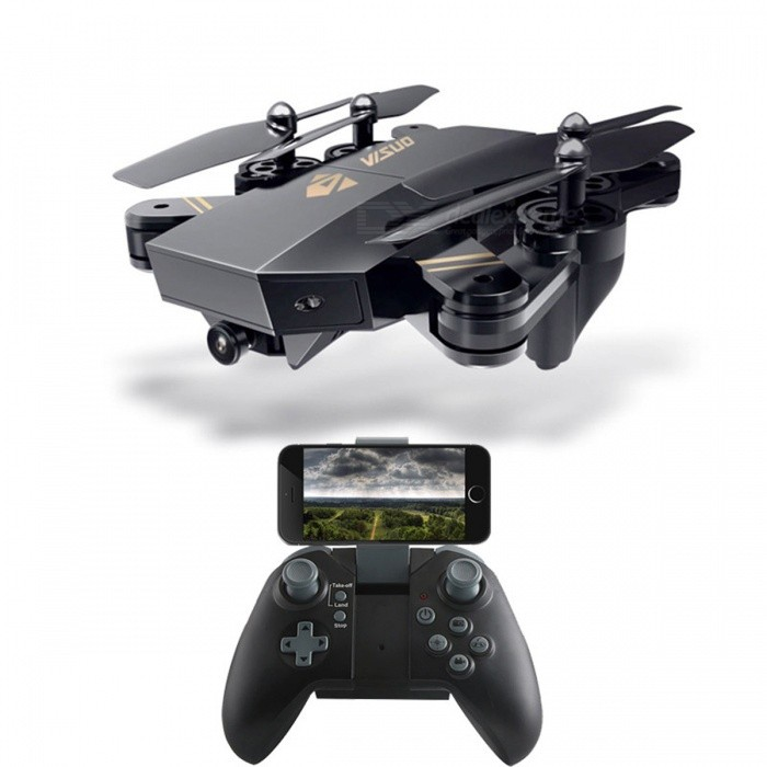 TIANQU VISUO XS809HW Foldable Drone WiFi Helicopter