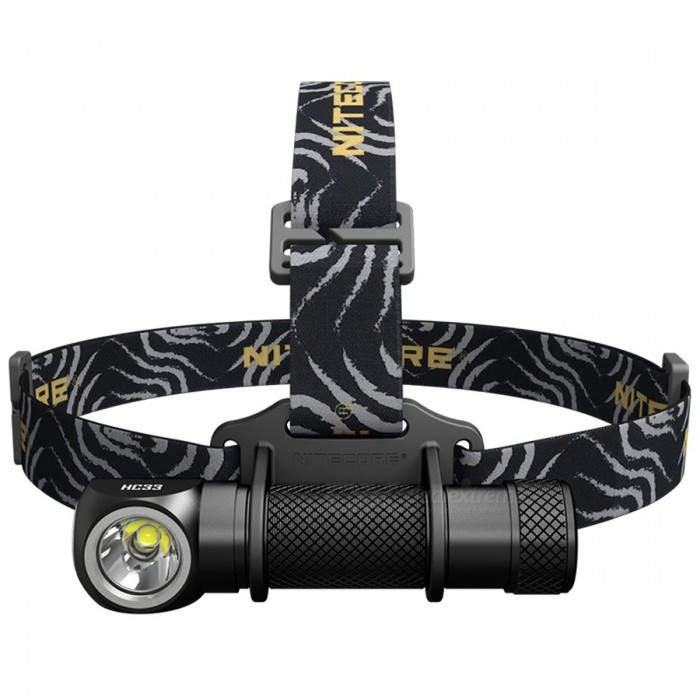 Nitecore HC33 High-performance Versatile L-shaped Headlamp - Black