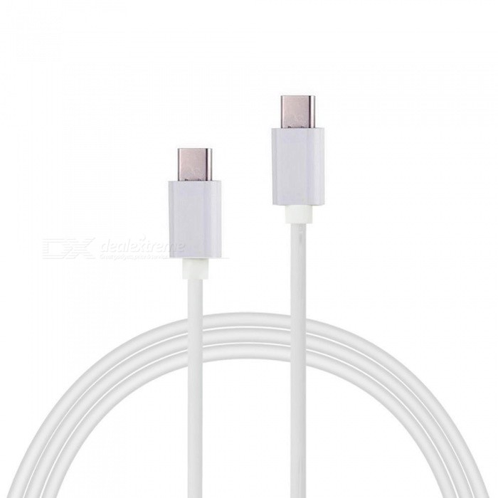 Cwxuan USB 3.1 Type-C Male to Male Fast Charging Data Sync Cable - White
