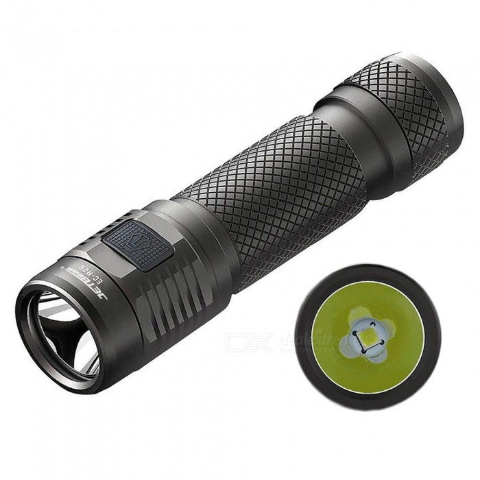 JETBeam 2018 EC-R26 1080 Lumens/155M High Quality 1*18650/2*CR123A Battery Powered Outdoor Waterproof LED Flashlight
