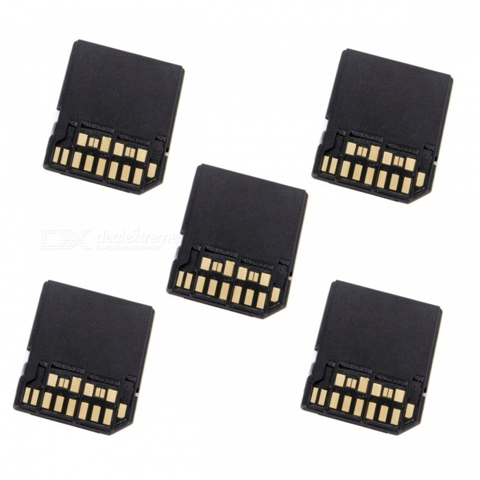 CY EP-088 5Pcs UHS-II 4.0 Micro-SD SDHC SDXC TF Card to SD SDHC SDXC Card Adapter Kit for sale in Bitcoin, Litecoin, Ethereum, Bitcoin Cash with the best price and Free Shipping on Gipsybee.com