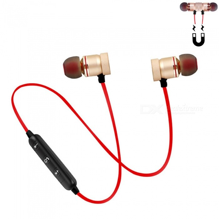 Cwxuan Sports Magnetic Bluetooth V4.1 Stereo Earphone with Microphone for Cell Phones