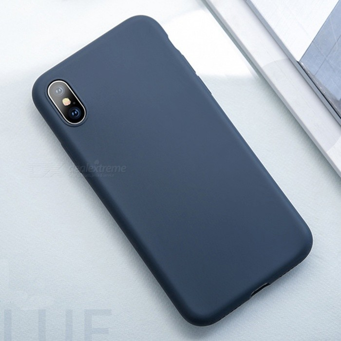 USAMS Protective 0.8mm Ultrathin Liquid Silicone Back Case for IPHONE X