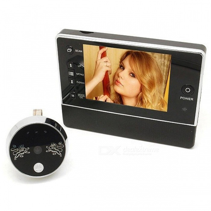 Visual-Electronic-Night-Vision-Electronic-Visual-Doorbell-with-Photo-Non-Disturbing-Function