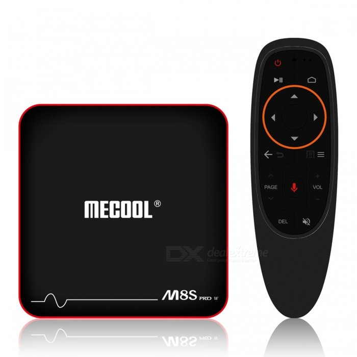 MECOOL M8S PRO W Android 7.1 TV Box Amlogic S905W CPU Quad Core with Voice Control Remote