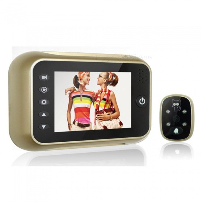 Electronic Visual Doorbell Support Camera Video Function