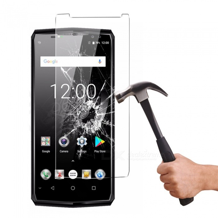 Buy Tempered Glass Screen Protector Film for Oukitel K10 - Transparent with Litecoins with Free Shipping on Gipsybee.com