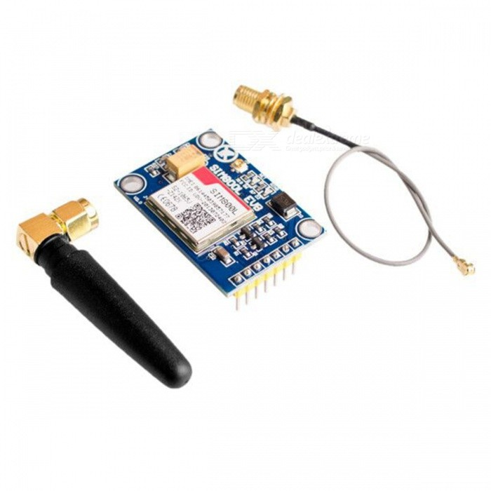 Buy ESAMACT SIM800L V2.0 5V Wireless GSM GPRS Module Quad-Band with Antenna Cable Cap with Litecoins with Free Shipping on Gipsybee.com