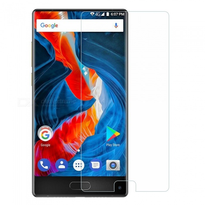 9H Tempered Glass Screen Protector Film for Ulefone Mix - Transparent