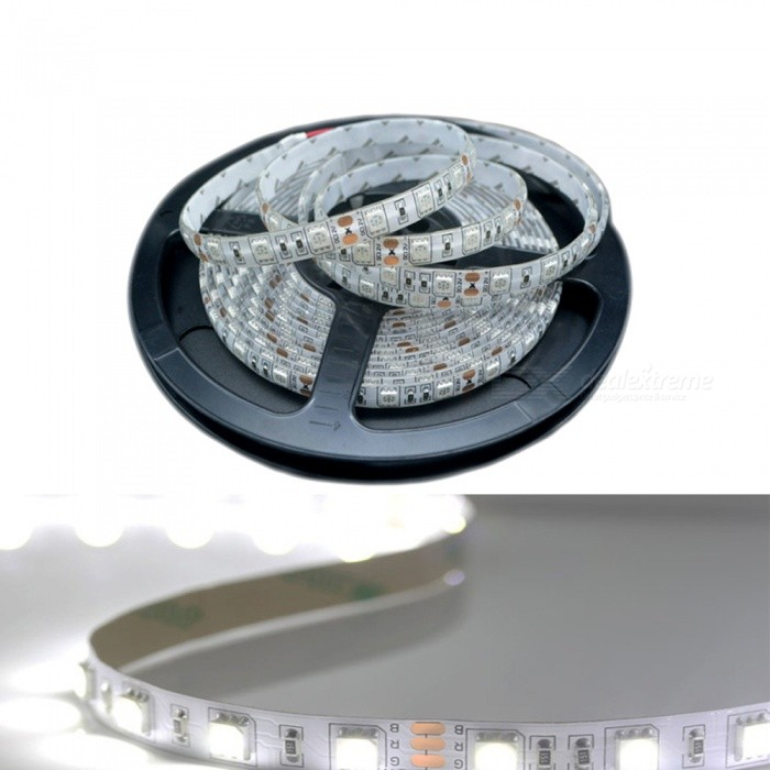 ZHAOYAO-5m-DC-24V-Non-Waterproof-5050SMD-60-LEDm-Flexible-White-LED-Light-Strip-for-Indoor-Use-and-Decoration