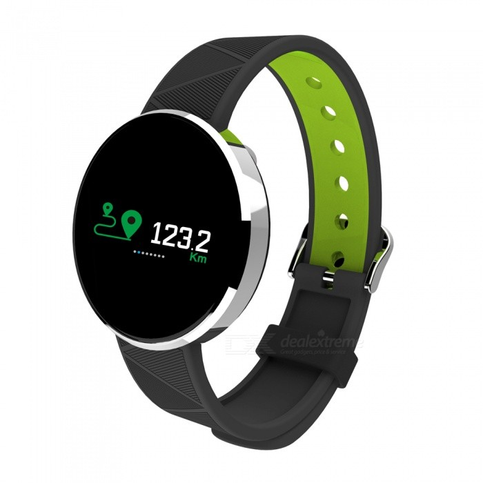S12 Smart Bracelet Touch Color Screen Sports Wrist Watch Heart Rate Blood Pressure Monitoring