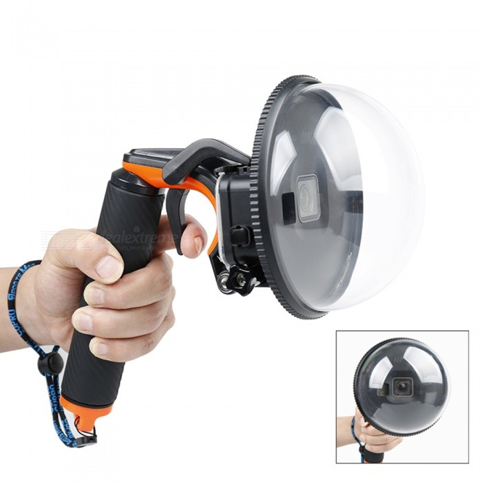 Dome-Diving-Camera-Cover-Set-with-Waterproof-Housing-Floaty-Bobber-Pistol-Trip-for-Gopro-Hero-5-Gopro-Hero-6