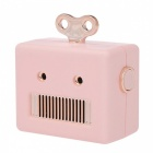 Emie-307-Robot-Style-3W-Mini-Wireless-Bluetooth-V30-Stereo-Speaker-with-Micro-USB-Hands-Free-Pink