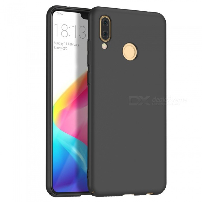 the latest 4826d e8310 Naxtop PC Hard Protective Back Case for Huawei P20 Lite - Black